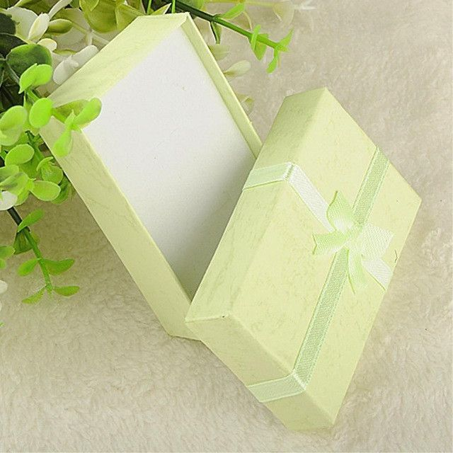 16pcs/lot Hot Sell Necklace Earrings Ring Jewelry Box 8*5*2.5cm Gift Boxes Wholesale Factory sale