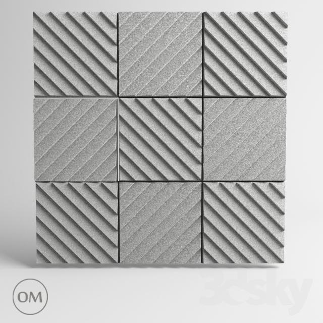 """OM"" Acoustic panel Soundwave"