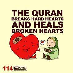 Quran heals....