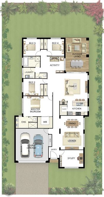 Coral Homes :: Hamilton Series features