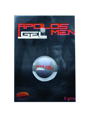 Apolos Men – Gel retardante para el hombre de ayuda rápida para extender el rendiemiento sexual. Contenido 5gr.
