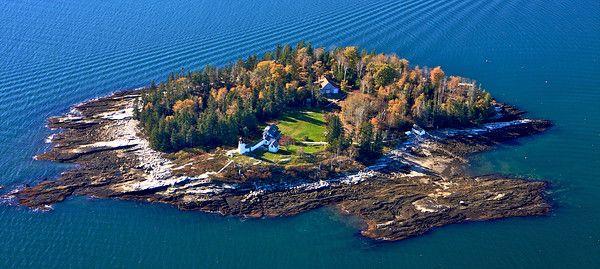 Burnt Island Light, Maine Imaging photo