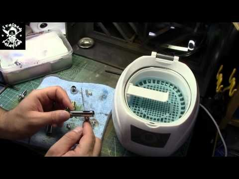 Ultra Sonic Cleaners and your Air Brush - YouTube