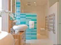 Give your bathroom or powder room a bright new look with beautiful colors that energize the space and please the eye