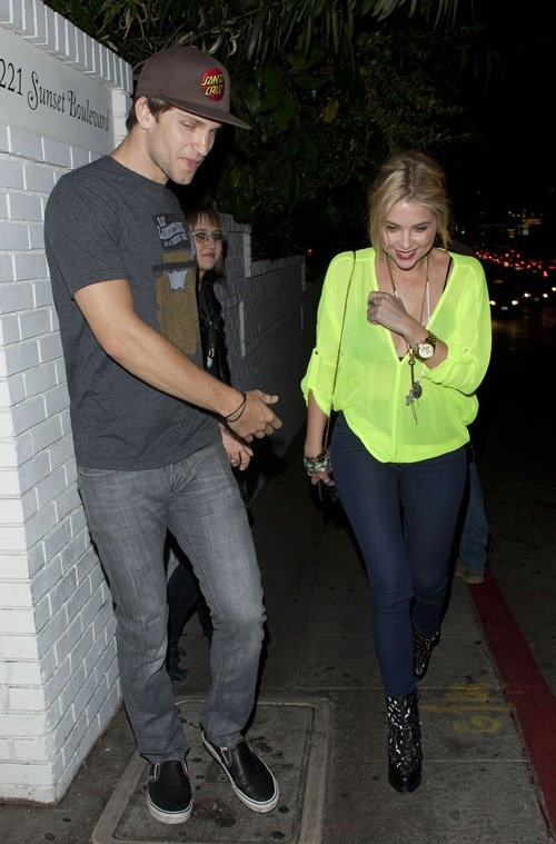 Keegan Allen And Ashley Benson Kissing 12 best images ...