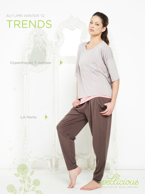 Enjoy the New Season, check out our Weekly Trend!    Copenhagen T-Jumper > http://www.wellicious.com/gbren/wellicious-copenhagen-t-jumper.html  LA Pants > http://www.wellicious.com/gbren/wellicious-la-pants.html