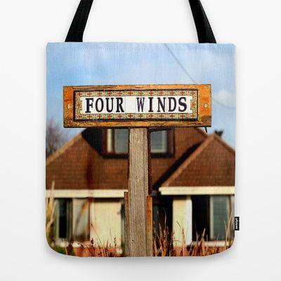 Four winds Tote Bag by Joe Pansa - $22.00