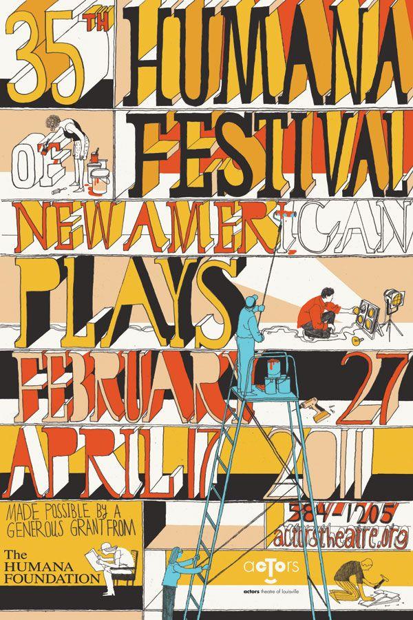 Josh Cochran, Festival Poster