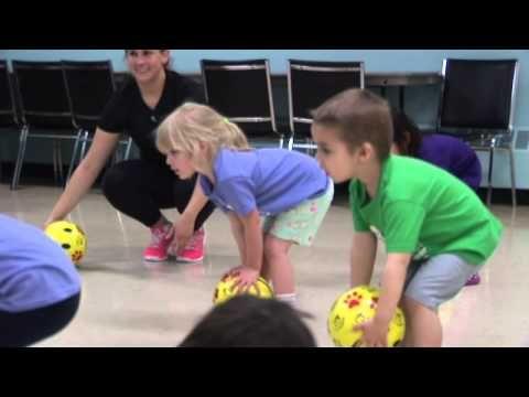 HappyFeet Saskatchewan Class Ages 2-3 - YouTube