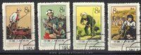 China Stamps - 1957 , S20 , Scott 330-3 Agricultural Cooperatives - CTO, F-VF - (9033C)