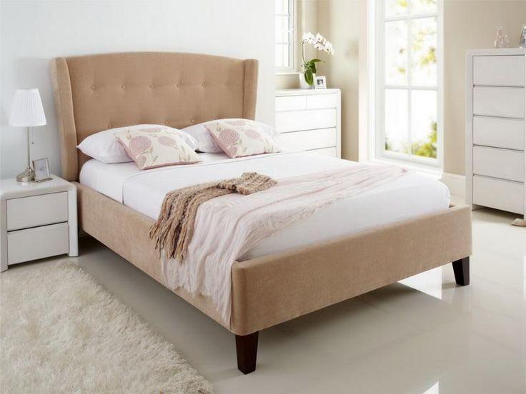 winged diy king size bed frame