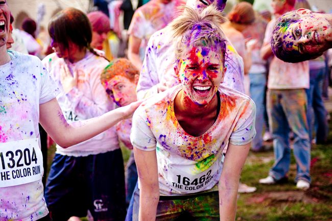 The Color Run - A color for each kilometer!