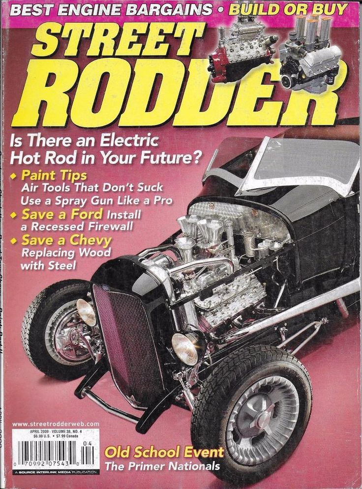 Street Rodder Magazine >> Street Rodder magazine Best engine bargains Paint Firewall install Wood Steel | Wood steel and ...