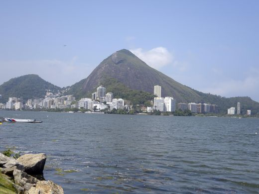 Olympic officials say the venue for rowing will be one of the most picturesque in the history of the Games. Here's a general view of Lagoa Rodrigo da Freitas.