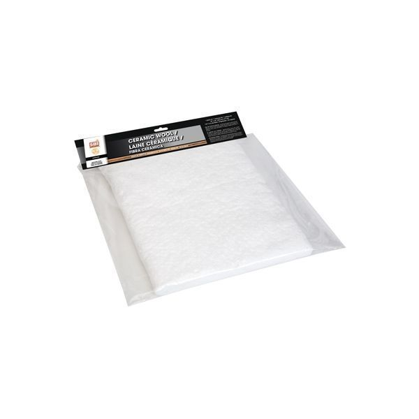 Drolet AC02530 CERAMIC WOOL FOR WOOD STOVE FIREPLACE 16 X24 X1/2  THICK LAINE