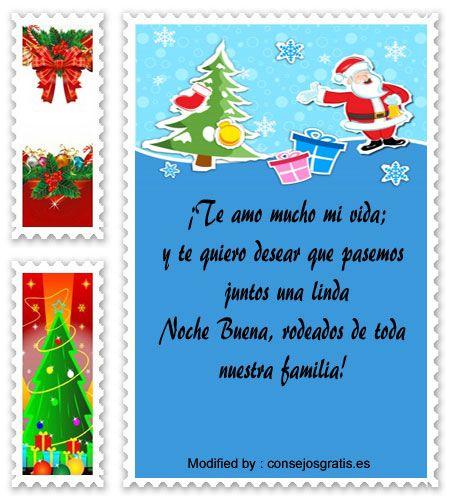mensajes para enviar en Navidad a mi esposa, poemas para enviar en Navidad a mi esposa:  http://www.consejosgratis.es/feliz-navidad-para-mi-esposa/