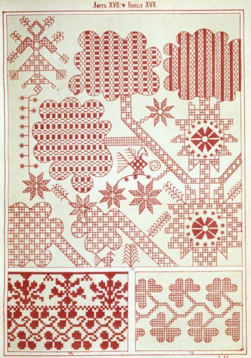 Gallery.ru / Фото #14 - Русский орнамент - vihrova