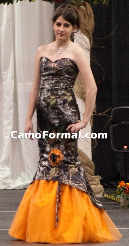 Mermaid camo dress! :D :D