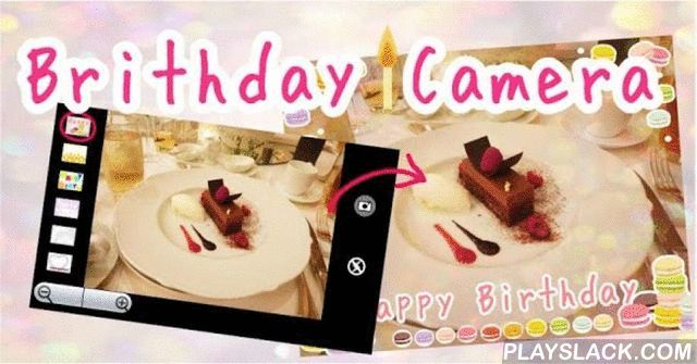 Birthday Camera  Android App - playslack.com , I fit in an instant the atmosphere of Happy Birthday ☆ HappyBirthday ☆Is a camera application ☆Choose a picture of your choice , when you press the shutter release button ,Photo birthday card like (Birthday card) is completed ☆So be ready immediately just to take pictures ,♪ does not need the work is! ... Adds, the message processing andUnchanged from when the photographed general , no time to process the side to be taken ,It is possible to…