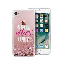 Puro iPhone 6/6s/7 Aqua mobildeksel (rosa)