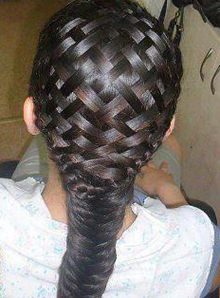 braided hair styles Now this checkerboard braid is one I haven't tried.... YET! :)
