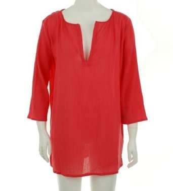 Nautica Swim Cover Up Shirt