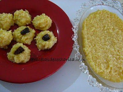 Cocina Costarricense: cajetas de coco y leche