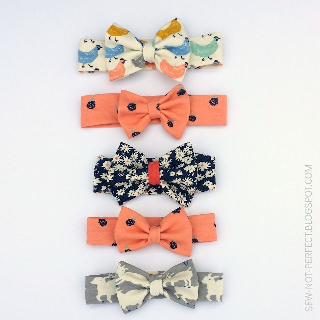 Bow Headband Tutorial by Sew Not Perfect