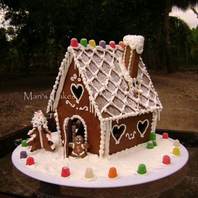 Mari's Cakes: COMO HACER UNA CASITA DE JENGIBRE, GINGERBREAD HOUSE