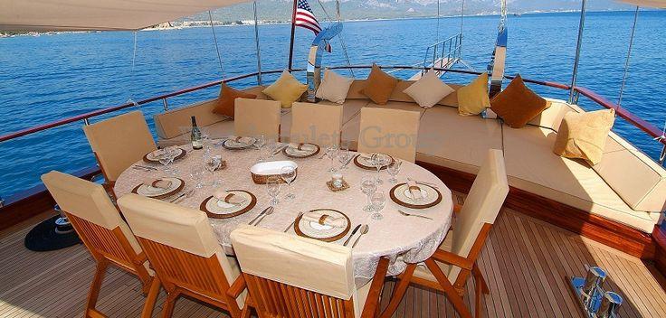Luxury Gulet 4 cabins in Ionian Greek Islands