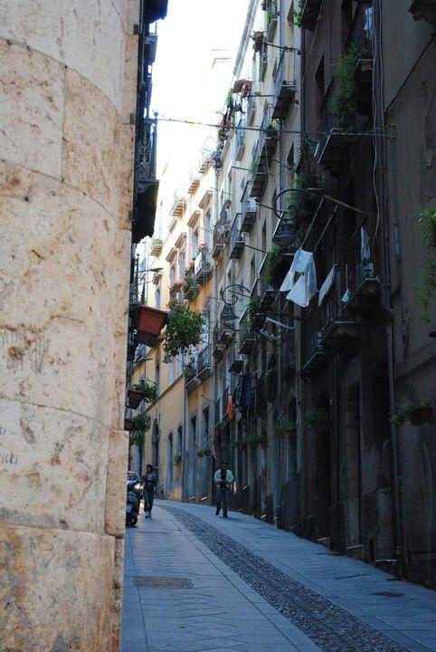 Centro storico . Castello. Cagliari