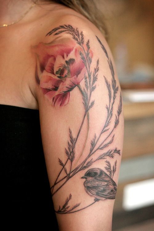 Tattoo by Alice Kendall!