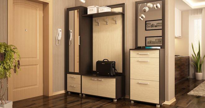 Малогабаритные прихожие в коридор - лучшие идеи подбора мебели