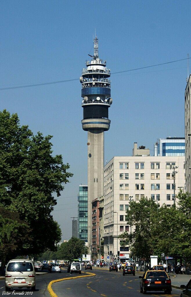 Torre Entel, Santiago de Chile