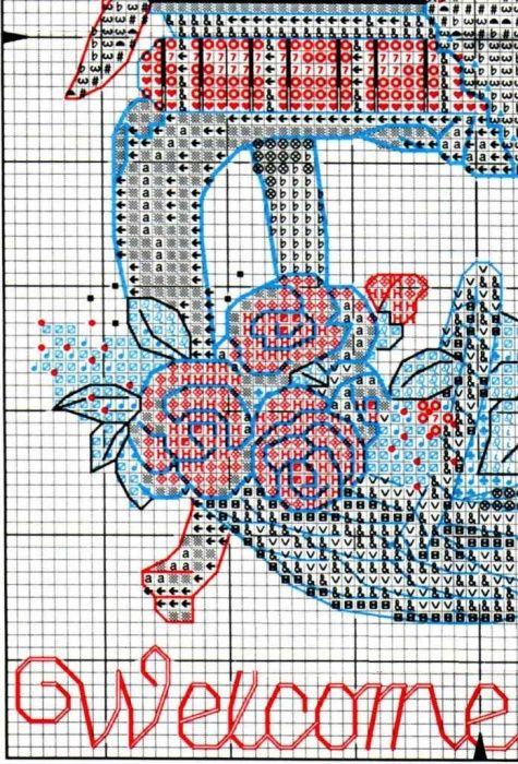 Схема вышивки Время чаепития (Dimensions) 3 из 4