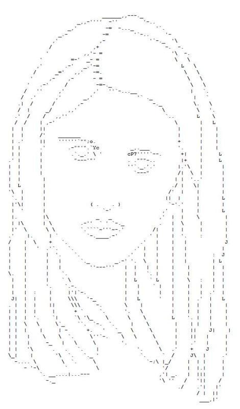 One Line Ascii Art Kiss : Best ascii art images on pinterest
