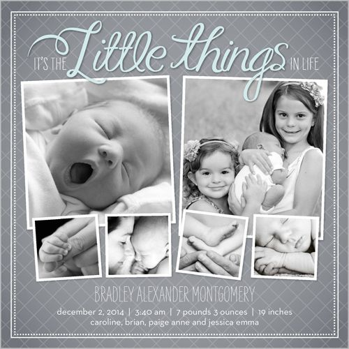 20 best birth announcement images – Birth Announcements Shutterfly