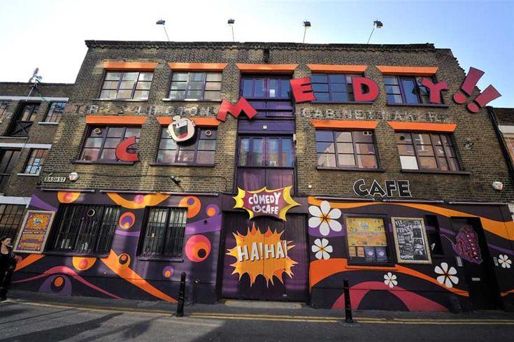Comedy Cafe, Shoreditch, London