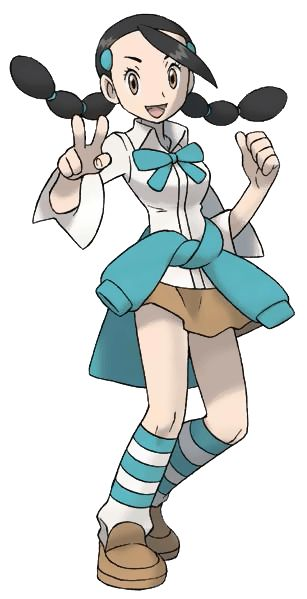 #Diamond Pearl Candice from the official artwork set for #Pokemon Diamond and Pearl on #NintendoDS. http://www.pokemondungeon.com/pokemon-diamond-and-pearl-versions