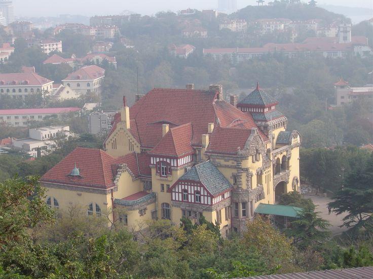 The former German governor's residence in Qingdao, Shandong Province, China via @Tara