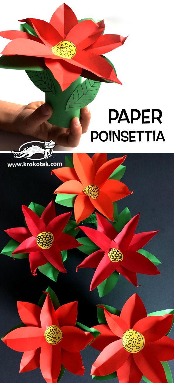 Paper+POINSETTIA
