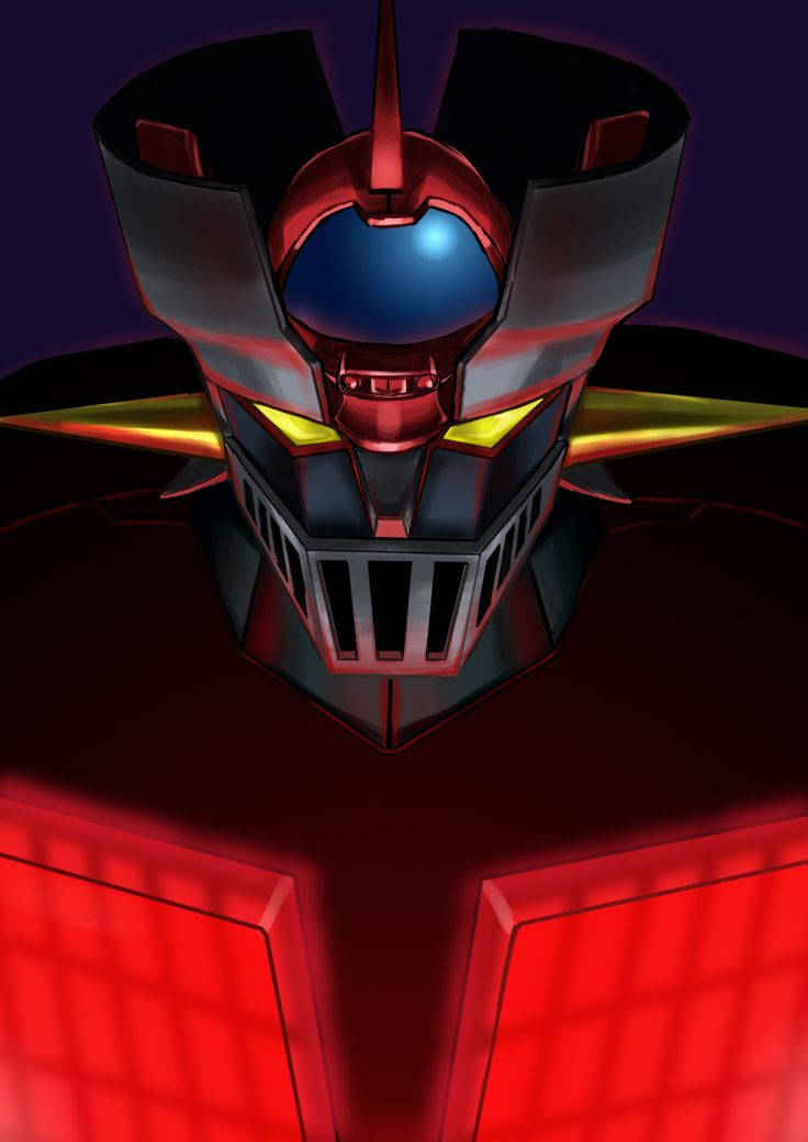 Mazinger Z (artist unknown). If you're old enough to remember this TV show from when you were kids, you will remember the thrill of anime before it was big.