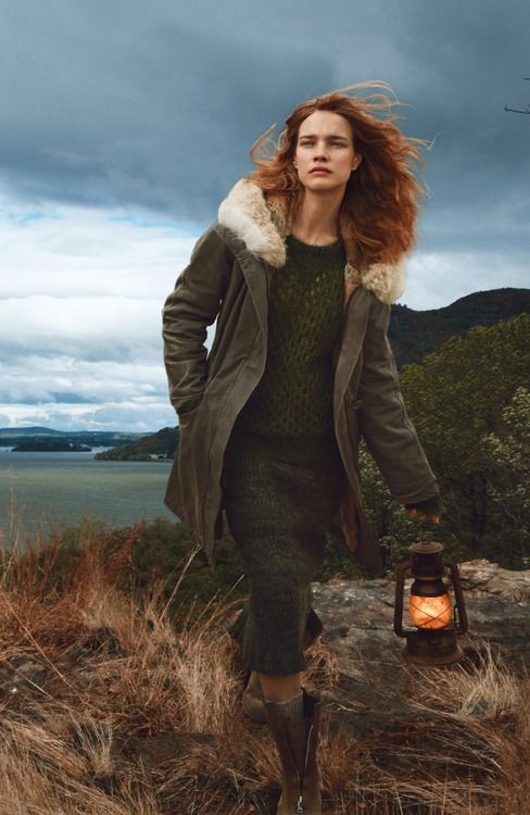 "stormtrooperfashion: Natalia Vodianova in ""The Fall Classic"" by Annie Leibovitz for Vogue, October 2014"
