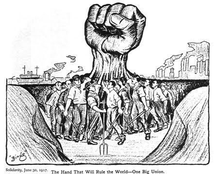 The strike was the beginning of an attempted revolution by the Industrial Workers of the World (IWW).  Some suggested that the strike was instead organized by the American Federation of Labor (AFL)  unions in Seattle, and that the IWW was not involved.