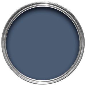 Dulux - Breton Blue Feature wall idea.