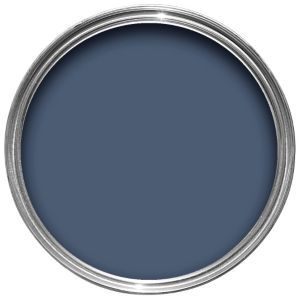 Dulux - Breton Blue Feature wall idea.