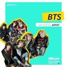 BTS has been nominated for the Top Social Award at the Billboard Music Awards. You can vote on the website for them. ARMY Fighting!!!!