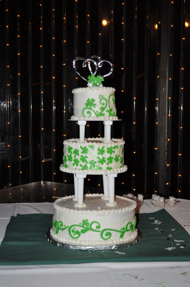 Luck Of The Irish Wedding Cake
