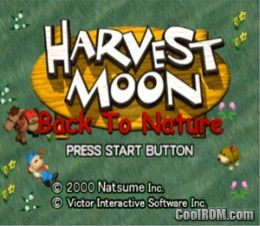 wow, before marvelous got it from victor(: Harvest Moon - Back to Nature ROM (ISO) Download for Sony Playstation / PSX - CoolROM.com