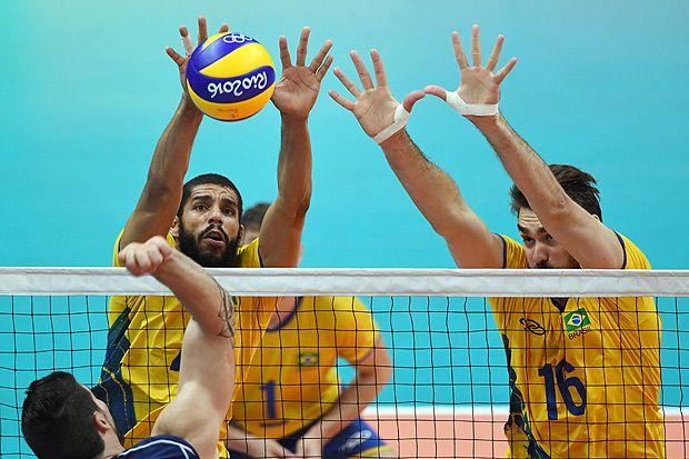 Seleção masculina de vôlei conquista o ouro; Brasil não alcança meta de ficar…